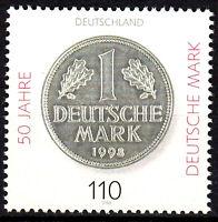 1996 postfrisch BRD Bund Deutschland Briefmarke Jahrgang 1998
