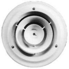 American Metal Products 1500W6 6-Inch White Round Ceiling Diffuser Ceiling, W...