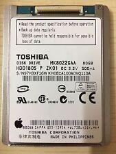 Toshiba MK8022GAA Apple iPod Classic 80GB HDD - 1.8 HDD For Use In Apple iPod