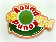 ROUND AND ROUND WE GO TITLE PREMADE  PAPER PIECING 3D DIE CUT MY TEAR BEARS KIRA