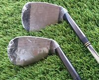 Set of 2 golf Wedges 56 and 60 degree loft L/H