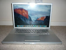 "Apple MacBook Pro 2007 15"" Core 2Duo 2.4Ghz 4GB 320GB Nvida 256MB OSX El Capitan"