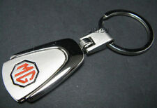 MG KEYRING Key Chain Ring-CHROME Plated Silver Metal key chain keyring lucas MG