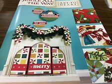 "ART TO HEART # 5448 ""JINGLE ALL THE WAY"" QUILT BOOK BY NANCY HALVORSEN"