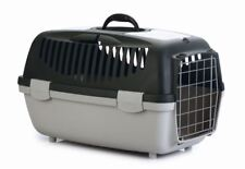 XXL Jumbo Katzentransportbox Hundetransportbox mit Metallgitter 55x36x35cm *NEU*