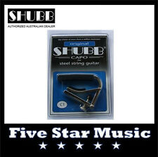 NEW Shubb C1 Original Capo for Steel String guitar