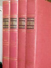 LA SECONDA GUERRA MONDIALE Enzo Biagi Sadea 1964 4 volumi Storia Enciclopedia di