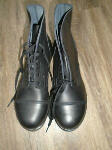 AMMO BOOTS SIZE 9L WIDE WIDTH FITTING BRITISH ARMY ISSUE NEW