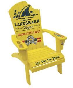 NEW! Margaritaville LANDSHARK ADIRONDACK CHAIR Outdoor Lounge Patio Furniture