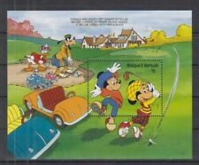A398. Antigua & Barbuda - MNH - Cartoons - Disney's - Golf - Cars