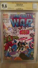 Infinity Wars #4 CGC 9.6 AUTOGRAPHED by JIM STARLIN & RON LIM