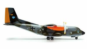 1:500 Herpa Luftwaffe Transall C-160 Military Airplane Diecast Aircraft Model