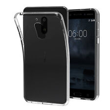 Custodia Cover Morbida Fina Anukku Trasparente Air Gel Per Nokia 6
