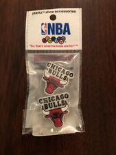 Jibbitz RARE HTF NBA Chicago Bulls Official Merchandise Shoe Charms Crocs NEW!