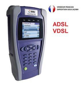JDSU SmartClass ADSL VDSL Cable Testeur Cuivre Smart Boucle Local Repartiteur