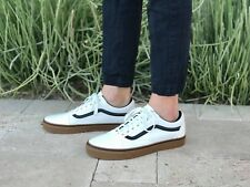 VANS OLD SKOOL SKATE SHOES MEN'S SIZE 10  GUM BLANC De BLANC and Black