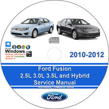 Service Repair Manuals For Ford Fusion For Sale Ebay