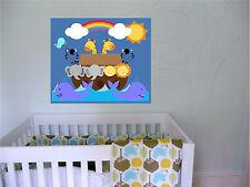 30x36 Noahs Ark Repositionable Color Wall Sticker Wall Mural Kids room Mural