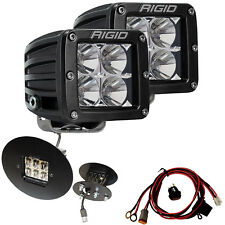 RIGID Fog Light Kit & D-Series PRO LED Lights for 11-14 GMC Sierra 2500HD 3500