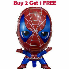 "Spiderman Spider Man Kids Birthday Party Decorations 23"" BALLOONs"