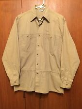 Lowe Alpine Long Sleeve Shirt Cotton Outdoor Travel Hiking Camping Fishing New