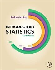 Introductory Statistics 4th Edition by Sheldon M. Ross (2017, Hardcover) NEW