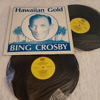 Bing Crosby Hawaiian Gold 2 LP Vinyl 1987 MCA Records MSM 35082
