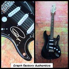 GFA Original Sí Líder Jon Anderson Firmado Guitarra Eléctrica J2 Coa