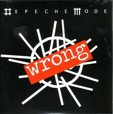 "DEPECHE MODE "" WRONG 2 TRACKS, CD SINGLE CARDBOARD"""