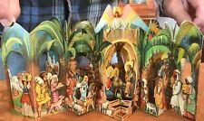 Vintage Collectible Vojtech Kubasta 3D Pop-Up Paper Czech Nativity