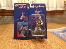1998 Baseball STARTING LINEUP Darin Erstad Anaheim Angels MLB Kenner SLU