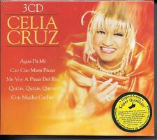 3 CD Celia Cruz `Celia Cruz` Neu/New/OVP Latin