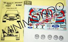 TRANSKIT FORD ESCORT COSWORTH MARTINI COPPA LIBURNA 1997 1/24 RACING 43 TK15
