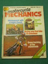 MOTORCYCLE MECHANICS - GRASS TRACKING - June 1980
