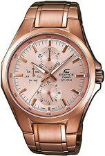 Casio Edifice EF339G-9A Men's Rose Gold Tone Multidfunction Analog Watch