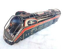 Rare Vintage Battery MT Trademark Silver Streak 3305 Litho Tin Train Toy, JAPAN