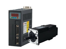 0.64-10NM AC Servo Motor Driver+3M Encoder&Power Cables Nema32-42 1Year Warranty