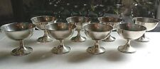 Set of 8 Vintage Wallace Sterling Silver Sherbert, Champagne #15 no monograms