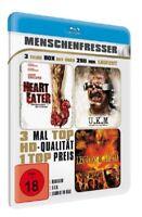 Menschenfresser - 3 Filme Box - BluRay - MetallBox - Neu und originalverpackt
