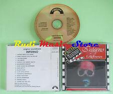 CD KEITH EMERSON Inferno o.s.t 1989 italy CINEVOX CDCIA 5022  (Xs3) no lp mc dvd