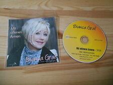 CD Schlager Bianca Graf - Mit offenen Armen (1 Song) COCCO MUSIC