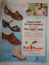 1948 Red Goose Shoes Poll Parrot Shoes Extra Protection Original Ad