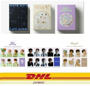 NCT 127 DREAM WayV Set 2021 SEASONS'S GREETINGS + Hologram Photocard SM Official