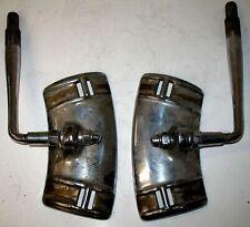 PAIR 1920s - 30s  SIDEMOUNT TIRE ARMS OFF CLASSIC PIERCE ARROW PACKARD CADILLAC