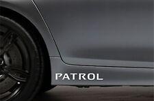 2x Skirt Side Stickers fits Nissan Patrol Sticker Bodywork Car Decal VK58