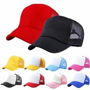 Baby Girls Boys Baseball Cap Hat Toddler Summer Casual Mesh Hat Snapback Sun Cap