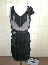 Love Moschino Tassel Dress Size Uk10