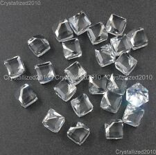 Top Quality Czech Crystal 3/4 Flatback Cubes Rhinestone Nail Art Decoration DIY
