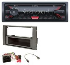 Sony Bluetooth AUX USB MP3 Autoradio für Ford Fiesta Focus (04-08) anthrazit
