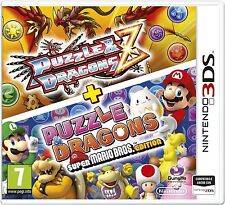 Puzzle & Dragons Z + Puzzle & Dragons Super Mario Bros Edition  3DS   NUOVO!